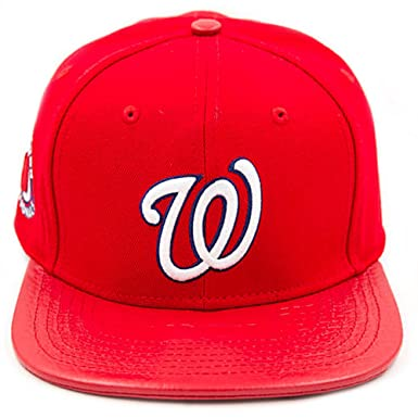8298cc0907eec Image Unavailable. Image not available for. Colour  Pro Standard Men s MLB  Washington Nationals Baseball Strapback Hat