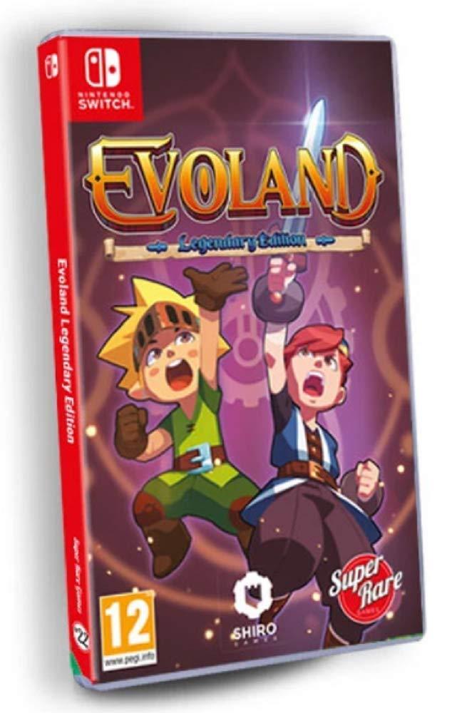Amazon.com: Evoland: Legendary Edition (Super Rare Games #22 ...