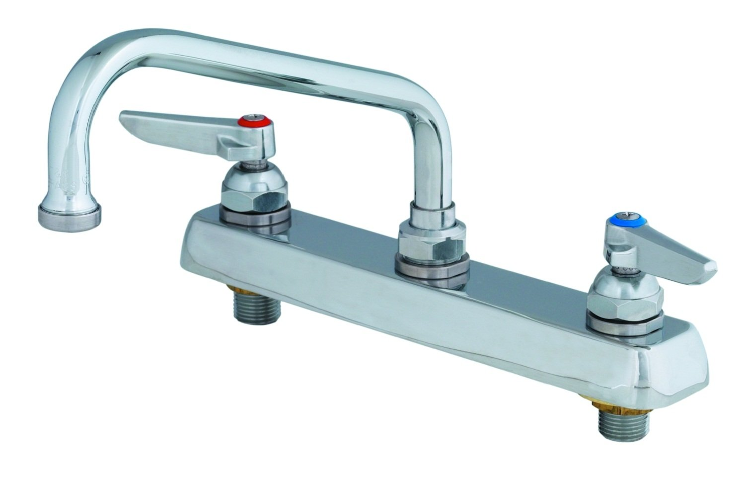 TS Brass B-1121 Workboard Commercial Faucet Chrome