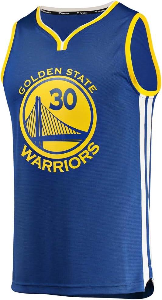 KETRL Camisa Bordada Aficionados Warriors Curry Jersey para Hombre (Azul, XXL): Amazon.es: Deportes y aire libre