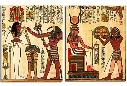 Amazon Com Egyptian Home Decoration Canvas Wall Art Egypt Pharaoh