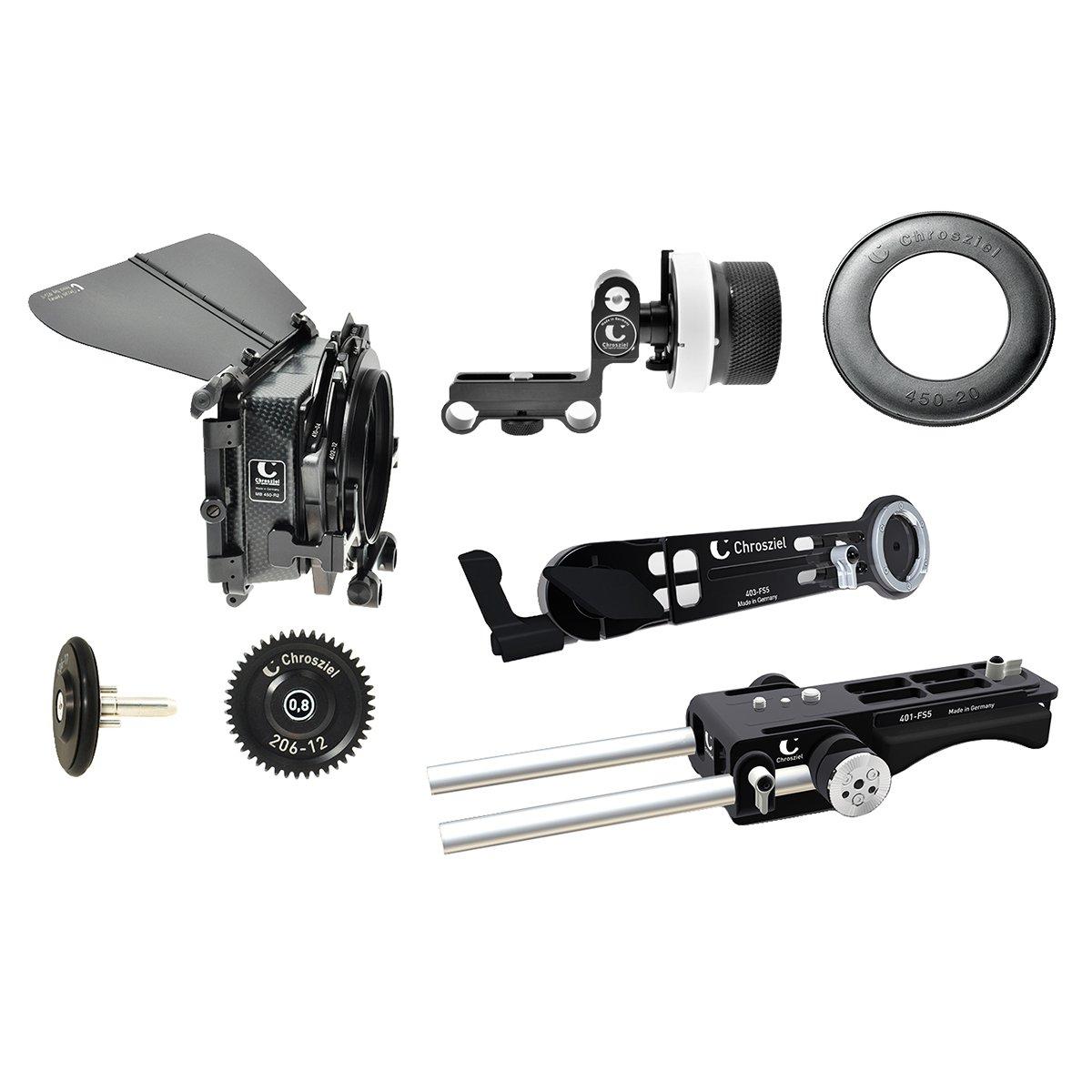 【国内正規品】Chrosziel クロジール Kit for Sony PXW-FS5 FS5-450R2EXT-KITFF   B07587VR8K