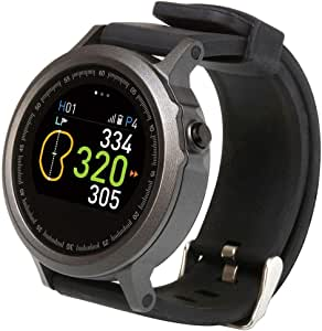 Golf Buddy Unisex-Adult Smart Golf GPS Watch GB9-WTX, Black, One Size