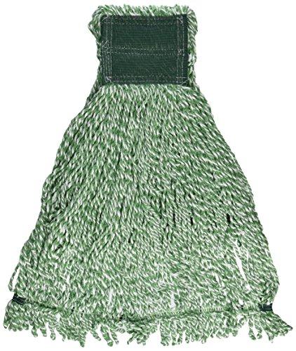 Rubbermaid Commercial Web Foot Microfiber Mop, Large, Green, FGA85306GR00