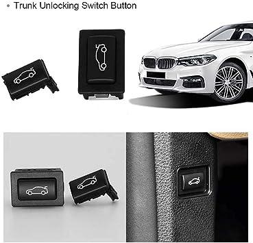 SODIAL Kofferraum Entriegelung Schalter Taste Montage F/ür BMW 3//5//7 Serie F25 F30 F10 F02