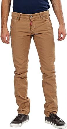 pantalones hombre marron claro
