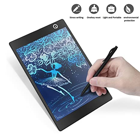 Amazon.com: CHUYI Colorful 9.7 inch Slim LCD Writing Tablet ...