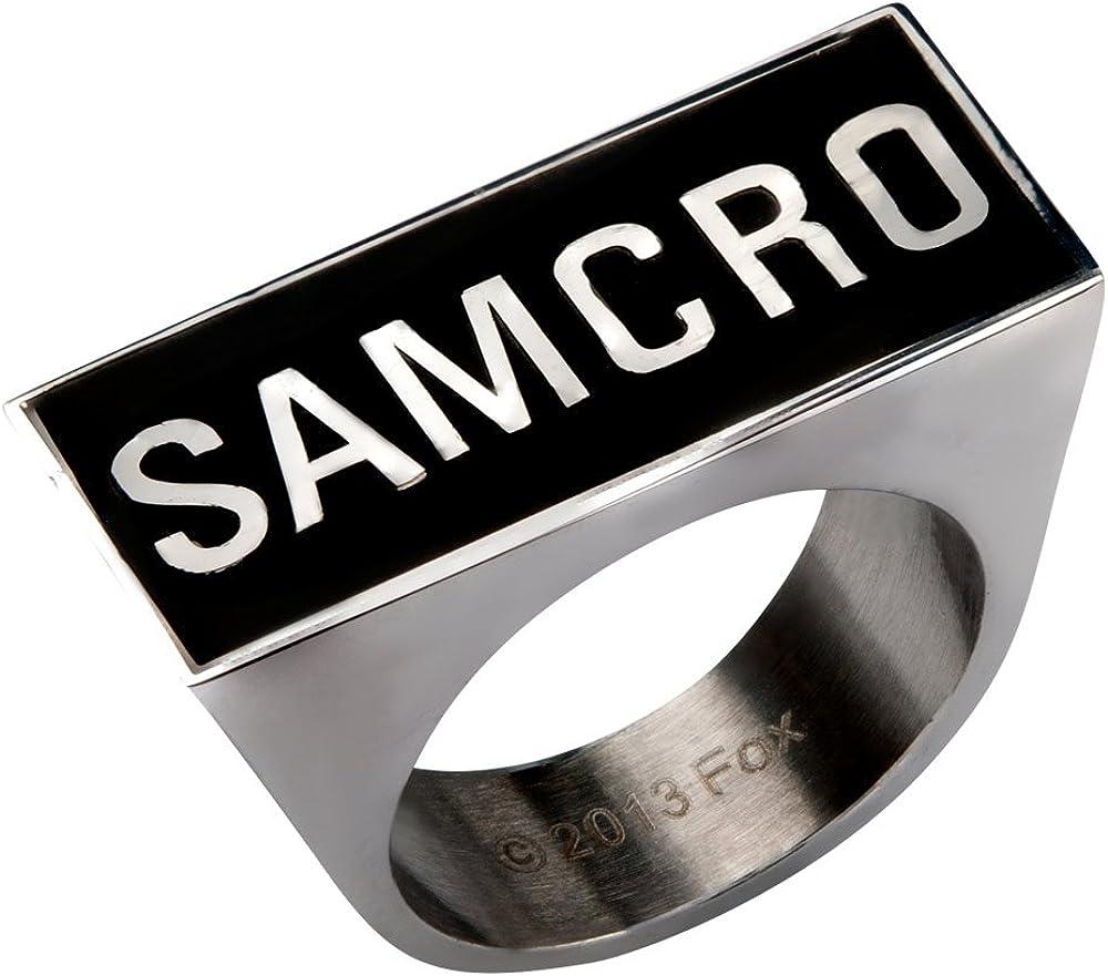 Animewild Sons of Anarchy Samcro Logo Ring