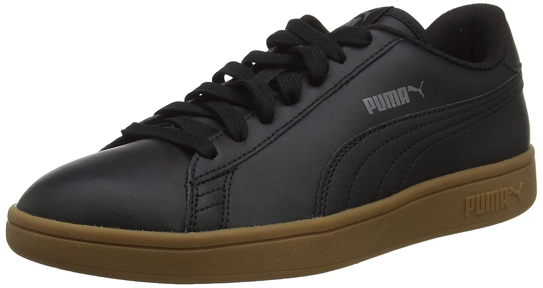 Negro Black-Gum 12 Zapatillas Unisex Adulto Puma Smash V2 L 36 EU