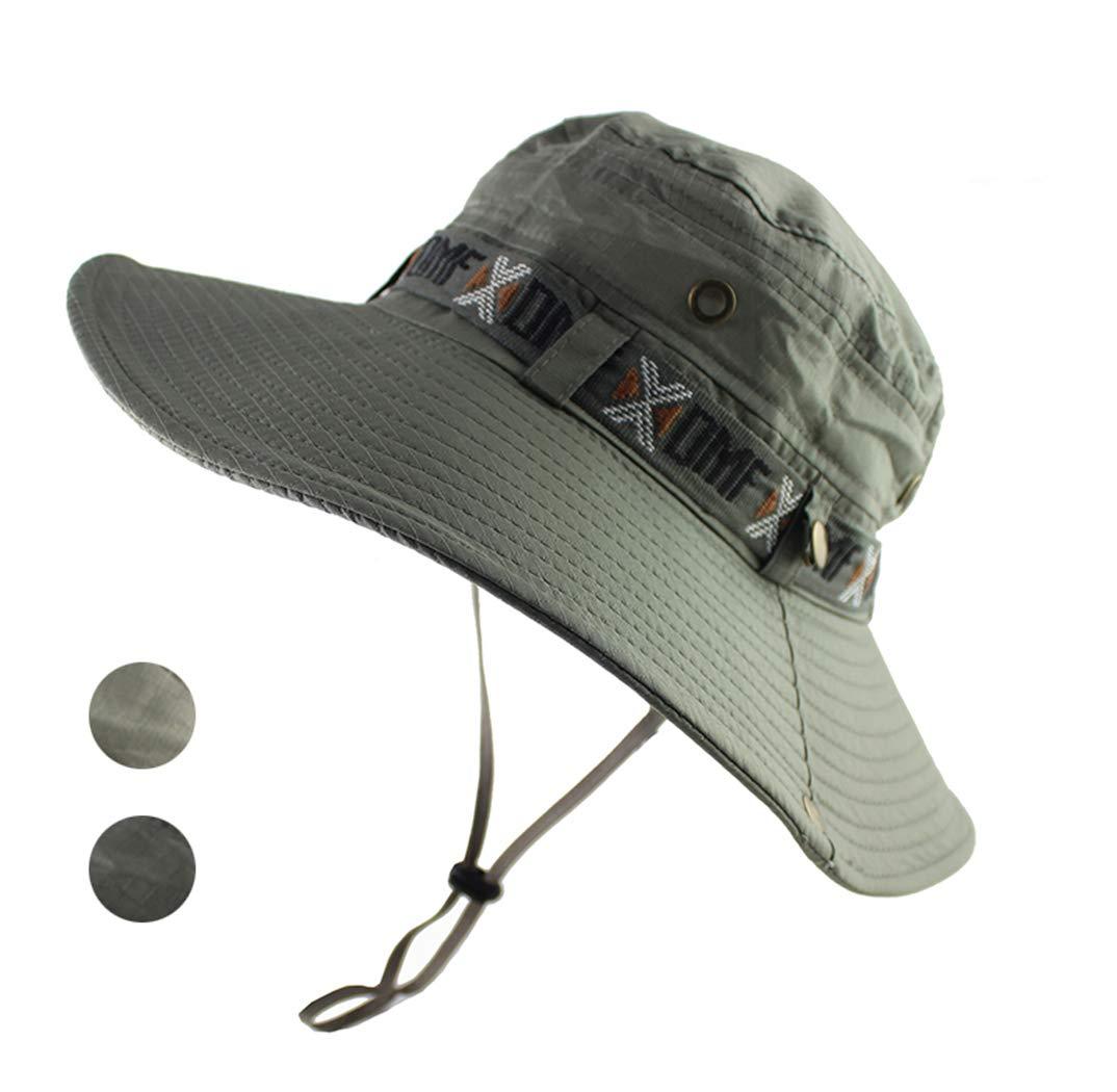 AIKI Outdoor Sun Hat for Fishing Summer UPF 50 Boonie Cap