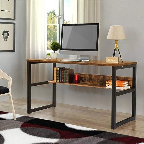 55.1″ Computer Desk Modern Office Desk