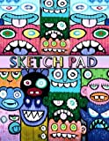 Sketch Pad: Graffiti Art Cover - Sketch Book for kids and adults - Blank Drawing Pad to Practice How to Draw, Doodle and Color Extra Large 8.5' x 11' (Graffiti Urban Art)