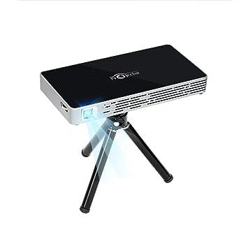 NOPNOG Pico Proyector Mini Video Proyector con Trípode Control ...