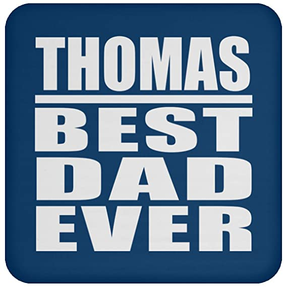 Thomas Best Dad Ever - Drink Coaster Royal Posavasos para ...