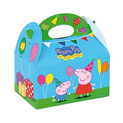 Decorata Party 50100467 - Cajita peppa pig