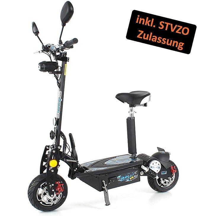 SXT Scooters 1000 XL EEC - Patinete eléctrico (40 km/h, con ...