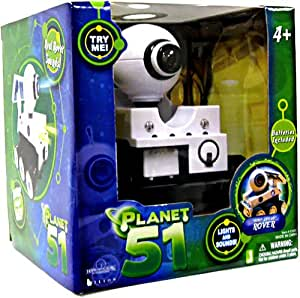 Planet 51 Bump and Go Rover