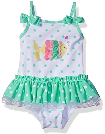 5253585f9 Little Me Children's Apparel Baby and Toddler Girls UPF 50+ One Piece  Swimsuit