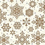 GLOWING STARS copper - Christmas - Paper Lunch Napkins - 3ply - 33x33 cm by PAW