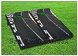 Cornhole Beanbag Board Game Set W Bags Race Car Track Nascar Racing Road Street