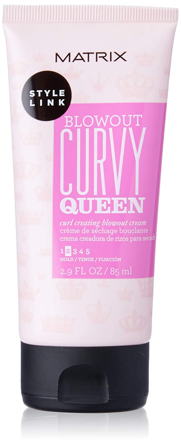 Matrix Style Link Curvy Queen Curl Creating Blowout Cream, 2.9 Fl. Oz.