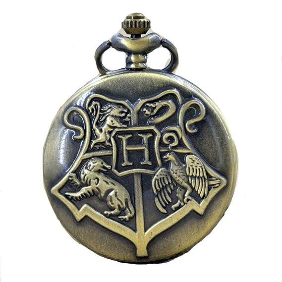 Casas De En Las Bolsillo Hogwarts Harry Potter Reloj Escudo WYH29EID