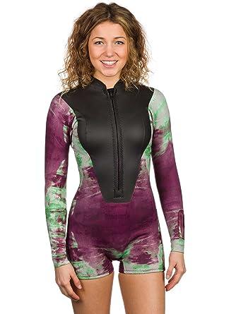 f8d9a72612 Wetsuit short Women Kassia LA Spring 2mm Wetsuit  Amazon.co.uk  Clothing