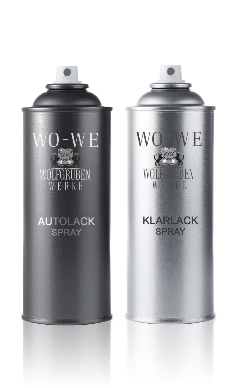 37,38eur/L–2x 400ml Vernis Spray Set de 3boites Peugeot ezrc Gris Aluminium avec un vernis Spray pour le Spray de laque vernis réparation des dommages à auto/voiture avec sprüh
