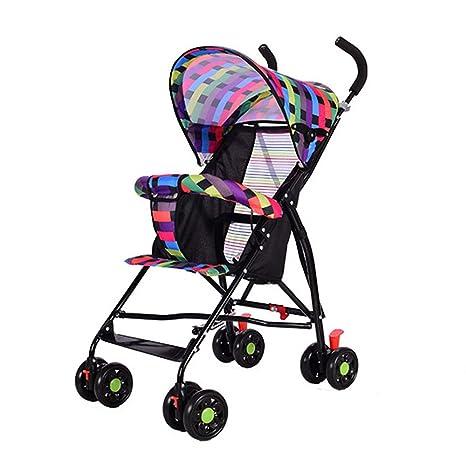 Carritos y sillas de paseo/Cochecito cochecito ultraligero cochecito plegable, para bebés, de