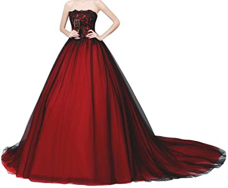 Lava ring womens a line sweetheart lace applique evening gown with