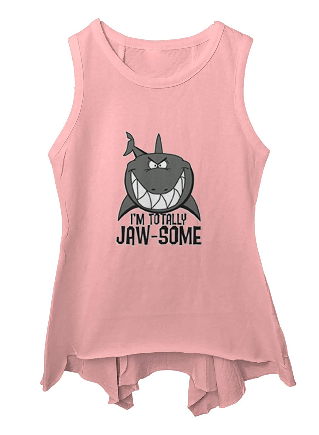 Shark Cool Toddler//Youth Sleeveless Backswing Im Totally Jaw-Some