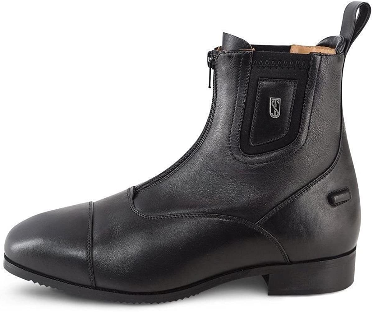 Tredstep Medici Front Zip Jodhpur Boots EUR 42 black: Amazon