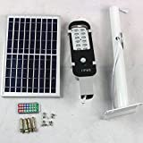 12W LED Solar Street Light, Energy-Saving Street Light Outdoor Lighting with Remote Control