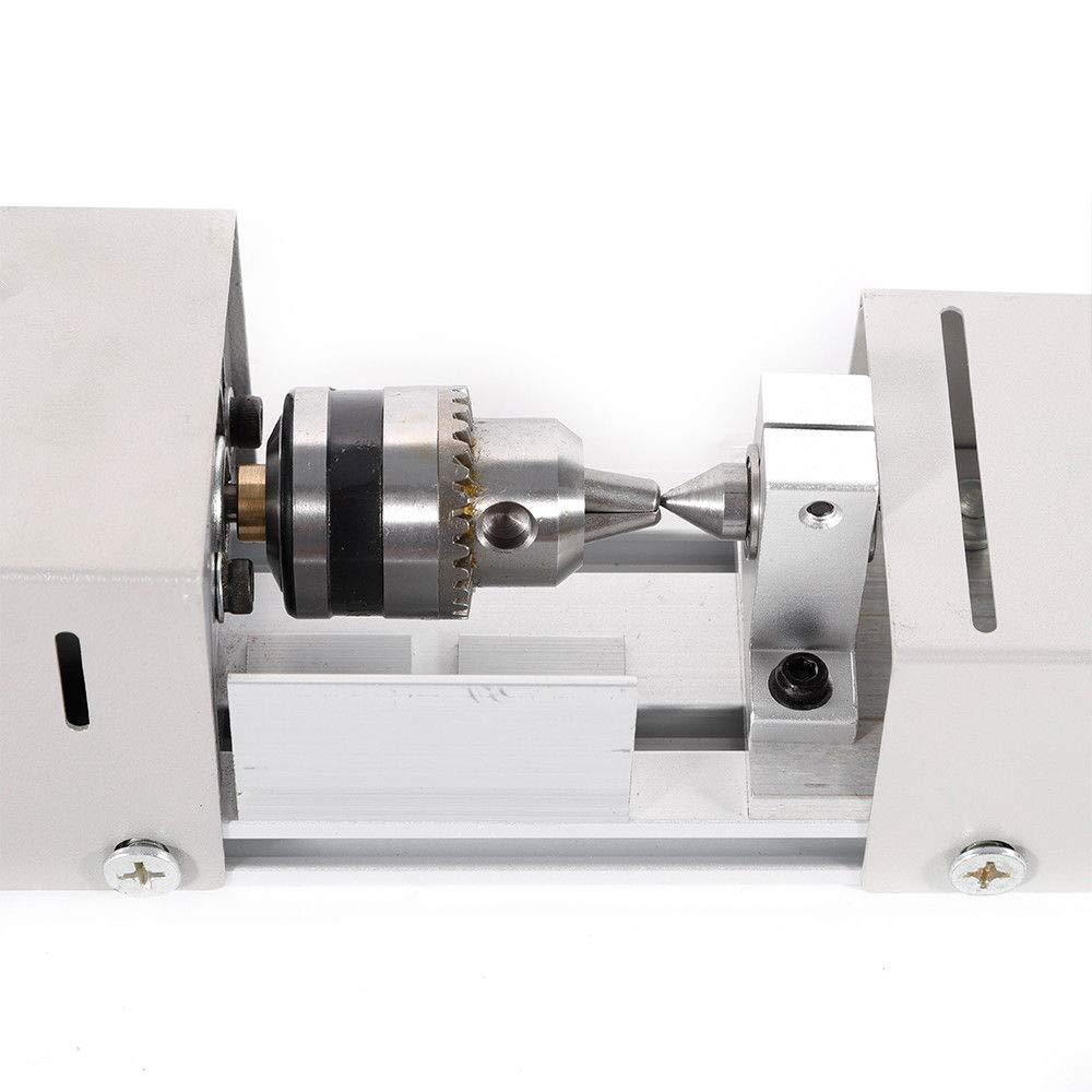 100W 220V Mini Drehbank Perlen Polierer Holz Schleifmaschine DIY Metall Drehmaschine