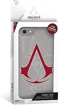 ABYstyle - Assassin's Creed - Coque de téléphone - Crest (pour iPhone 6, iPhone 6S, iPhone 7, iPhone 8)