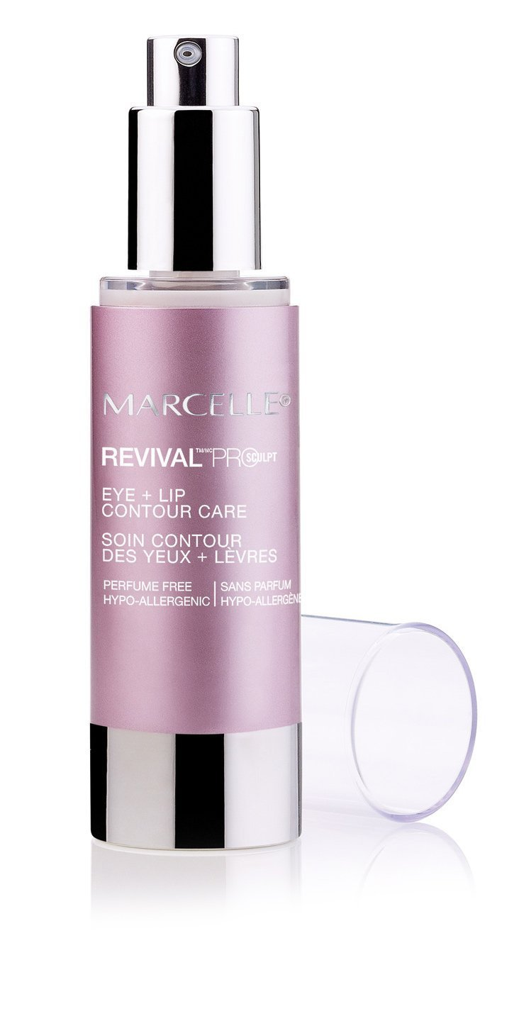 DISC_Marcelle Hypoallergenic and Fragrance-Free Revival Pro-Sculpt Eye + Lip Contour Care - 0.5 FL. OZ.