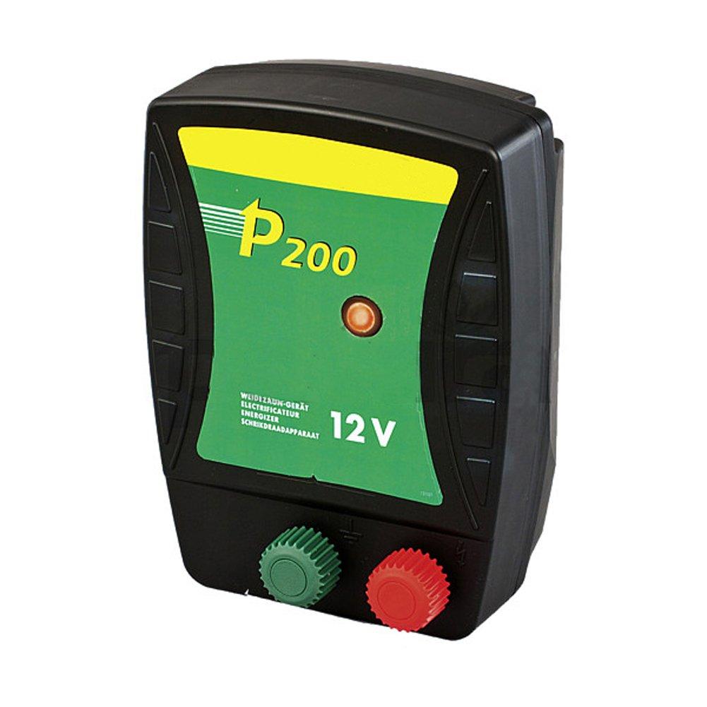 P200, Batterien Weidezaun-Gerät für 12 V Akku mit Tragebox - 146210