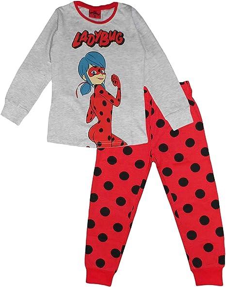 Official Girls Miraculous Ladybug Pyjamas Pjs Children/'s Kids 4 to 10 years NEW.