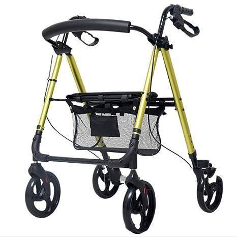 ADstore Andador Rollator Aluminio Ultraligero para Ancianos de 4 ...