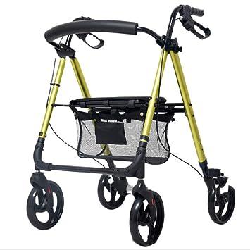 ADstore Andador Rollator Aluminio Ultraligero para Ancianos ...