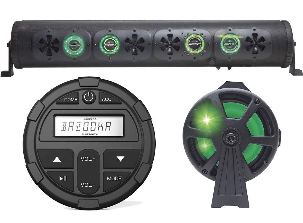 36'' Bluetooth Party Bar Off Road Sound Bar LED Bazooka BPB36-G2 + Controller by Bizooka (Image #1)