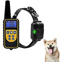 Collar de entrenamiento para perros de 800 yardas con control remoto electrónico para perros pequeños, medianos y…