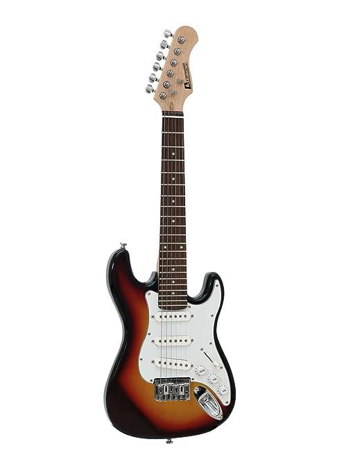 Set 2 x Guitarra eléctrica para niños STARTUP, con cable, sunburst - 2 unidades