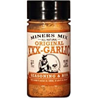XXX-Garlic Seasoning and Rub Packs a Triple Garlic Punch for Beef, Pork, Chicken, Lamb, Vegetables, and Pasta. A 2017 Scovie Award Winner. All Natural, No MSG, No Preservatives, Low Sodium