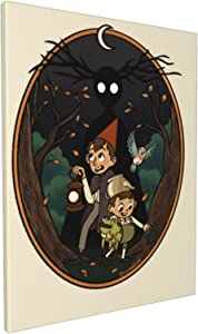Diamond Painting Into The Unknown - Over The Garden Wall Canvas Prints Embroidery Cross Stitch Art Crafts Poster