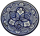 Product review for Ceramic Plates Moroccan Handmade Serving, Wall Hanging, Exquisite Colors Decorative Large 12 inches Diameter