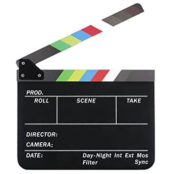 Tablilla de pelicula - TOOGOO(R)Tablilla de pelicula de cine ...
