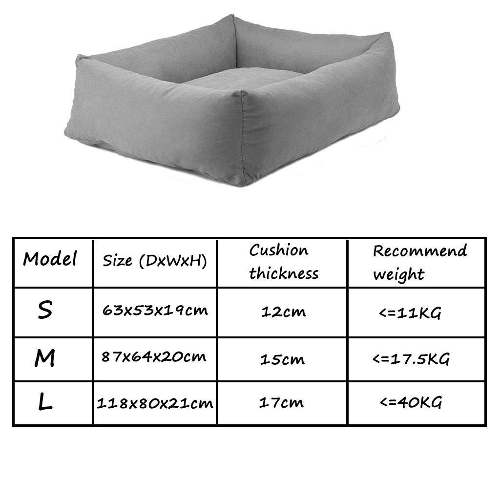 Zaino Cuscino per animali domestici Rimovibile e lavabile Materiali Materiali Materiali di consumo per morso resistenti all'usura - Tipo grande e medio   63 87   118cm cani (colore   Marronee-118cm) bde1ae