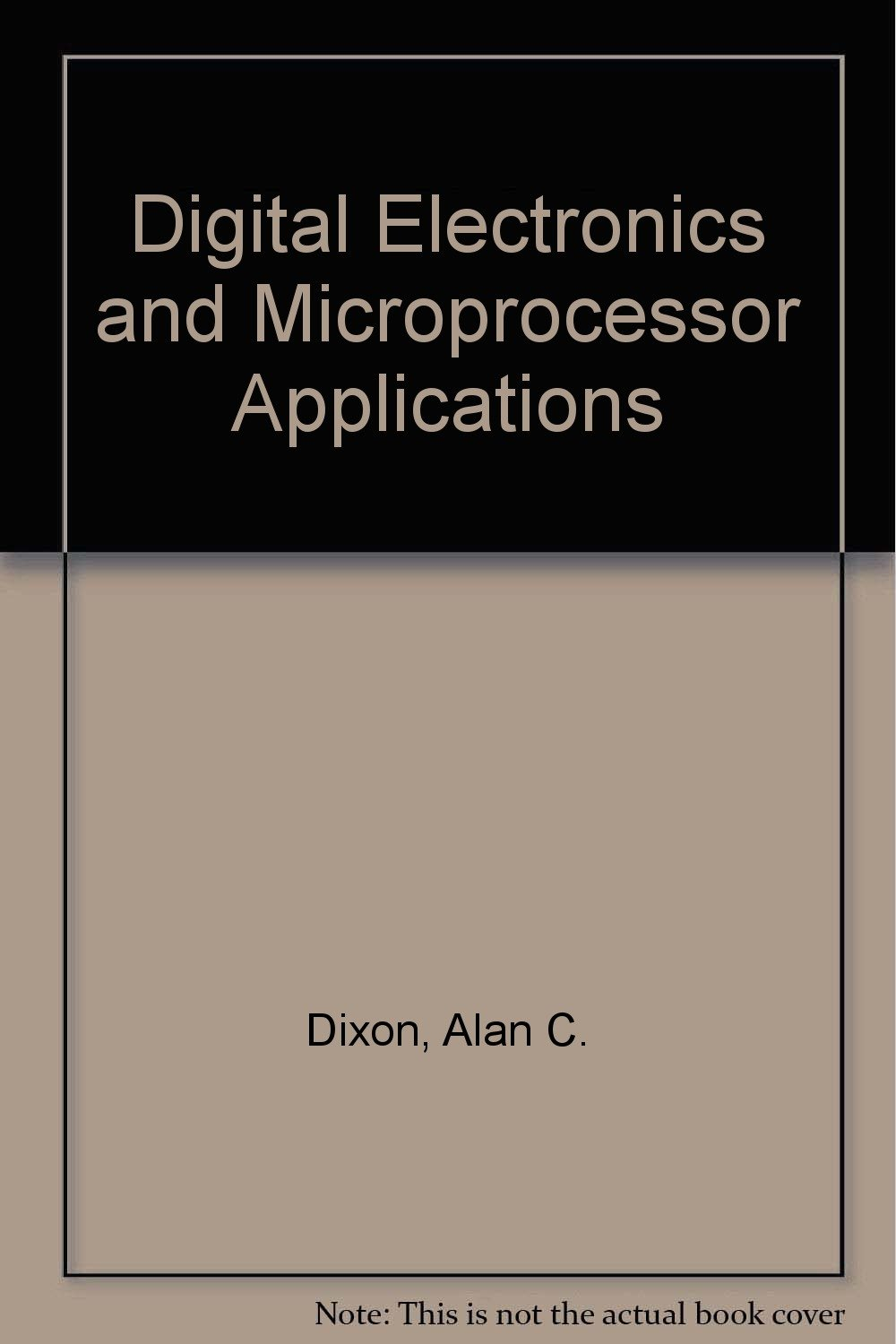 Digital Electronics and Microprocessor Applications