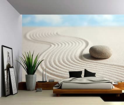 amazon com picture sensations canvas texture wall mural, zen stoneimage unavailable